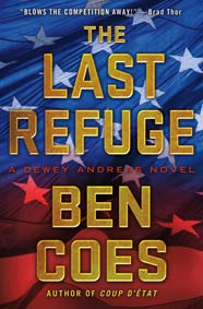 The Last Refuge by Ben Coes book cover